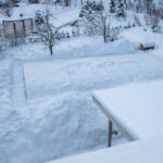 uima-allas talvella